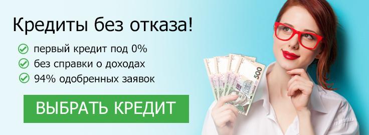 Деньги в кредит онлайн без отказа на карточку